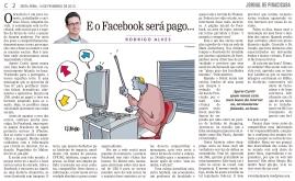 E o Facebook será pago...