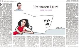 Um ano sem Laura