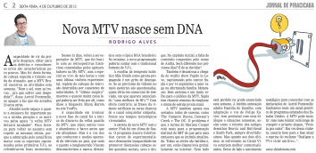 Nova MTV nasce sem DNA