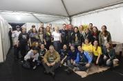Parte da equipe organizadora da Virada em Piracicaba - foto: Bolly Vieira