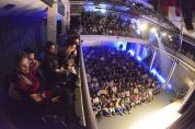 Plateia do Teatro Erotídes de Campos, que recebeu Marcelo Mansfield - foto: Bolly Vieira