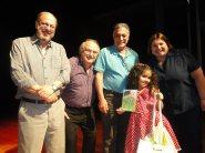 Victoria com Adolpho Queiroz, Evaldo Vicente, Gabriel Ferrato e Rosângela Camolese - Foto: Rafael Bitencourt