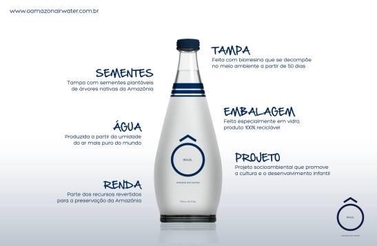 água gourmet