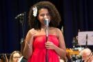 Bebé Salvego interpretou Tributo a Billie Holiday - foto Rodrigo Alves