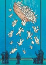 Charge do cartunista iraniano Alireza Pakdel venceu o Grande Prêmio Zélio de Ouro